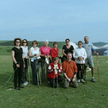 Image of Intensive Nordic Walking Course attendees