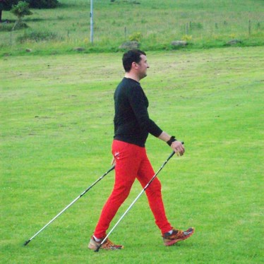 Image of Steve Nordic Walking