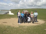 Course Group on Seven Sisters near Eastbourne