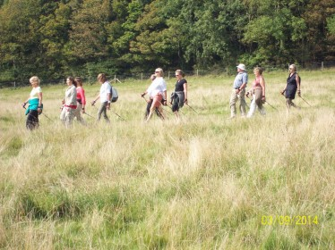 a photo of Nordic walking