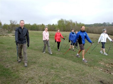 Nordic walking on the Ashdown Forest