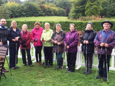 Nordic walking in Brighton