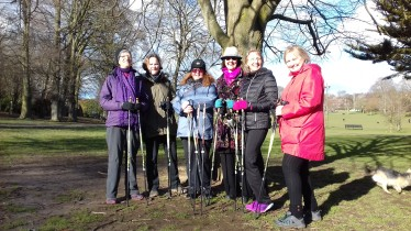 Nordic Walking Course, Hove - March 2018