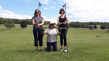 A Nordic Walking for Health course